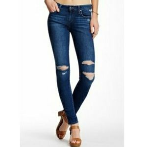 JOE'S Destroyed Skinny Vivian Wash Jeans